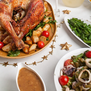 holiday health tips for holiday dinners turkey