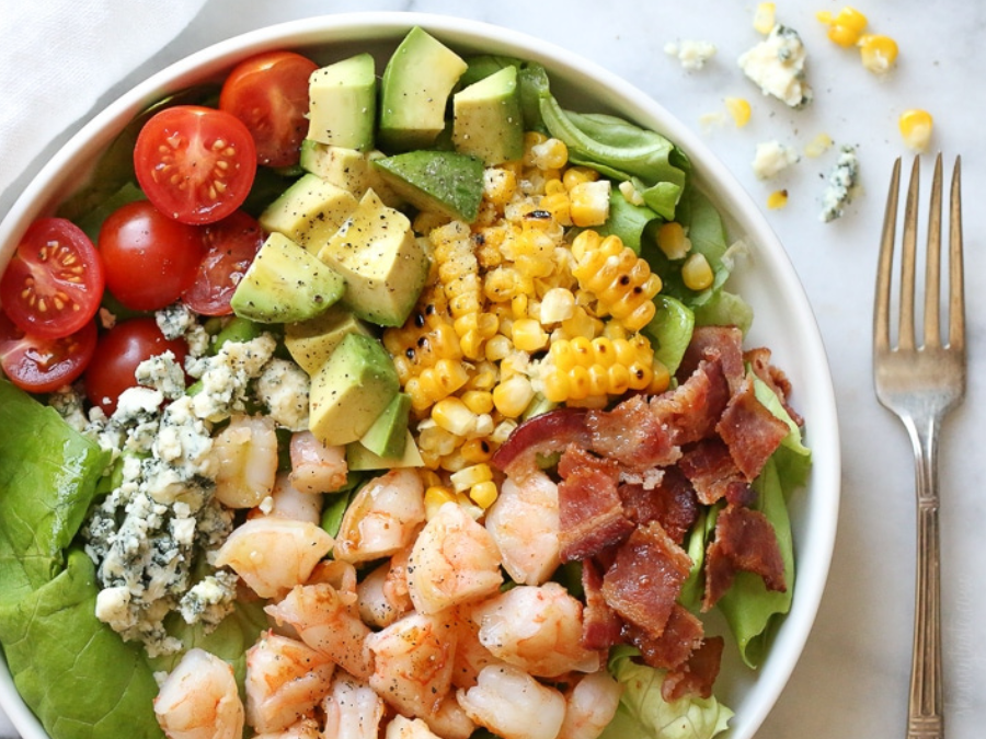 Chopped Shrimp Salad